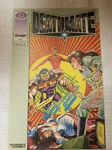 Valiant Deathmate preview 1993 $1.99
