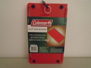 New Coleman 3 Piece cutting board red