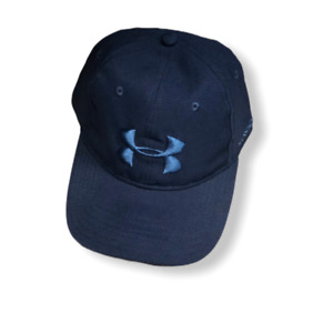Under Armour Golf Free Fit Performance Hat Navy Blue Adjustable $19.97