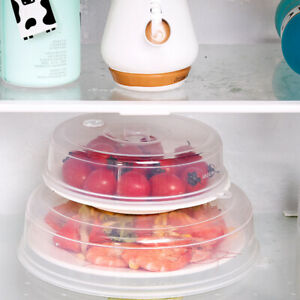 Microwave Plate Cover Food Hover BPA Free Anti-splatter Dish Lid Surprise