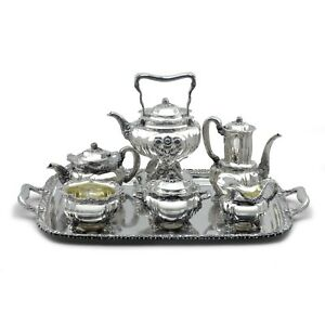 Tiffany & Co Chrysanthemum Sterling 7-Piece Tea & Coffee Service