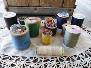 Lot of 13 Spools of Vintage Thread Coats and Clark#x27;s $19.95
