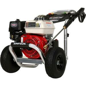 Simpson Aluminum 3600PSI at 2.5GPM KOHLER CH270 with AAA Triplex Plunger Pump