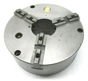 JAPAN HERTER 8 THREE JAW LATHE CHUCK w PLAIN BACK MOUNT