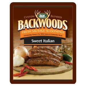 LEM Backwoods Fresh Sausage Seasoning Sweet Italian Makes 5 lbs.