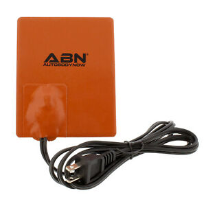 """ABN Silicone Heater Pad Car Battery Heater Oil Pan Heater Pad 4x5"""" 120V 250W"""