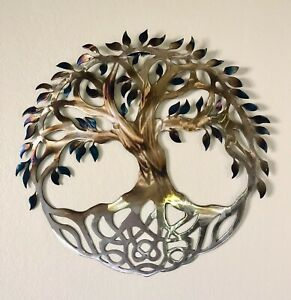 Celtic Tree of Life Metal Wall Art Torch Finish. 30 in diameter decoration. $279.99