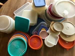 Tupperware Replacement Lids - Many Styles, Sizes, Colors - Volume Discount!