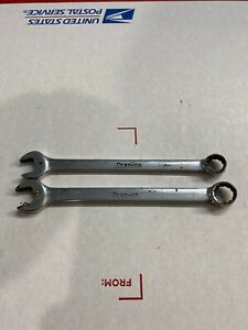 Snap On 2pc 12-Point Short Metric Combination Wrench Set (9/10mm)