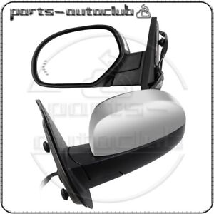 LeftRight Power Memory Heated Signals Chrome Mirrors For Chevy GMC $150.69
