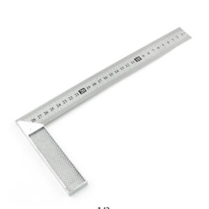 Tool 90 Degree Ruler Measurement Worker Hardware Turning Square Angle Ruler QK $3.84