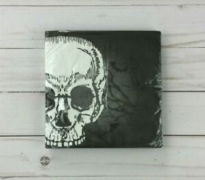 Paper Lunch Napkins Skull Bats Halloween 18 Count Party