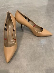 Burberry Stiletto HeelSize 9 US 39 EU Nude