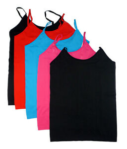 Prestige Edge Womens 5 Pack Cami Tops Size One Size $19.99