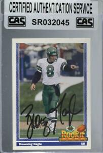 1991 Upper Deck Browning Nagle #624 CAS Certified Sealed Auto Rookie $26.07
