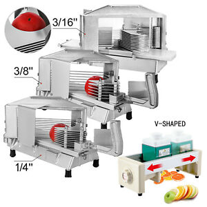 Commercial Tomato Slicer Vegetable Cutter Fruit Dicer 3/16