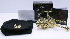 Van Staal Vs200G Spinning Fishing Reel Brand New In Box W Box Papers
