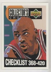 1994 95 Upper Deck Collector's Choice Silver Signature Michael Jordan #420 HOF