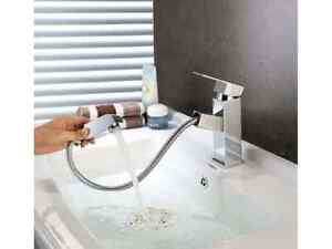 Bathroom Sink Faucets Kitchen Basin Mixer Tap for Hot/Cold Water, Faucet Aerator