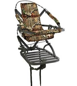 Summit Goliath SD 1 Person Climbing Treestand for Bow and Rifle Deer Hunting