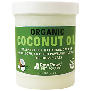 Organic Coconut Oil For Dogs amp; Cats 8 Oz Treatment Itchy Skin Dry Nose Paws Elbo