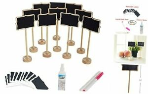 officematters Mini Chalkboard with Stand for Message Board Signs, Rectangle,
