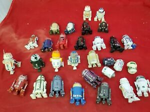 Star Wars action figures Build A Droid Disney Huge lot Vtg R5-D4 26 R2-D2 (mv
