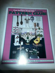 Winfield pattern club set #109 spring and Easter wood patterns