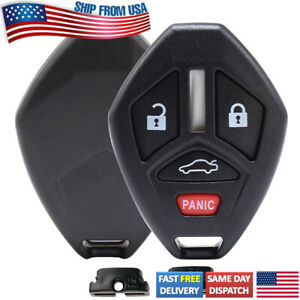 Replacement for Mitsubishi Eclipse Galant 2007 2012 Remote Key Shell Fob Case