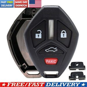 For Mitsubishi Eclipse Galant Lancer EVO US Key Fob Case Shell Pad Replacement $8.59