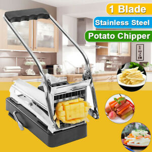 Stainless Steel Potato Chipper Cutting Vegetable French Fry Cutter Chip Tool
