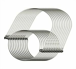 MiMoo 12 Pack Stainless Steel Wire Handles Handle-Ease for Mason Jar Ball Pin...