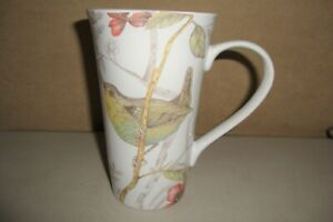 222 Fifth Large Porcelain Coffee Mug With Piper Bird