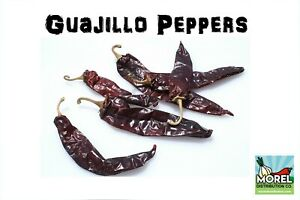 Guajillo Chili Pepper (Chile Guajillo) WT: 4oz, 8oz, 12oz, 1lb, 2lb, 5lb, 10lb!