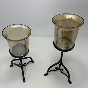 Iron Set Candle Holders Made In India