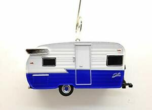 1962 Shasta Airflyte Camping Trailer Custom Christmas Ornament 1:64 Diecast