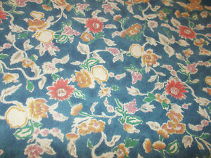 Rare Ralph Lauren Jardin Fruit Floral Queen Flat Sheet French Country Collette