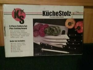 KucheStolz 6-piece cutlery plus cutting board knife set