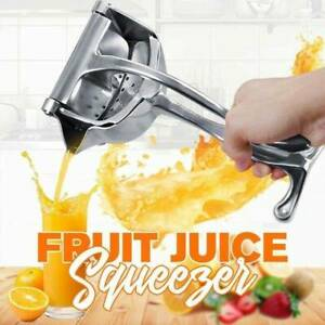 Manual Juicer Hand Juice Press Squeezer Fruit Juicer Stainless Steel hot