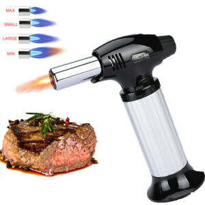 Adjustable Culinary Blow Torch Chef Cooking Torch Lighter Refillable Flame $14.73