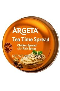Argeta Tea Time Chicken Pate 10 Pack FREE SHIPPING