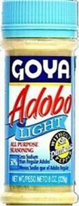 Goya adobo light, without pepper 8 oz Free Shipping