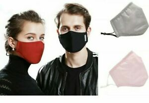Adjustable Adult Reusable Cotton Face Mask With PM2.5 Filters SHIPS FROM Dallas