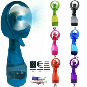 Fine Water Mist Spray Bottle Fan - Portable Handheld Muilt Colors Vary
