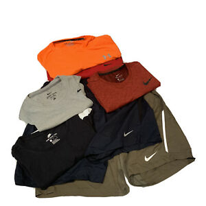 Nike Dri Fit Men's L Large Tee T Shirt Tanks Shorts Active Running *Lot Of 7* $99.99