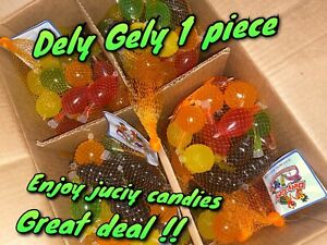 Dely Gely Fruit Jelly ! TIK TOK CANDY🌟 🍬1 Piece Juicy Candy Fast Shipping ‼️