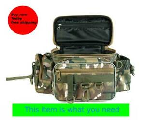 Fishing Bag Multifunctional Outdoor Reel Lures soft tackle bag case size parts