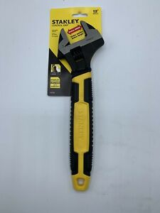 Stanley 90-950 Control Grip 12-Inch Extra Wide Adjustable Wrench (T1)