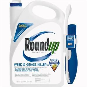 Roundup 1.1 Gal Ready To Use Wand Sprayer Weed & Grass Killer III 2 pk