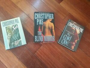 Lot of 3 Christopher Pike Hardcovers All 1st Editions VINTAGE HORROR